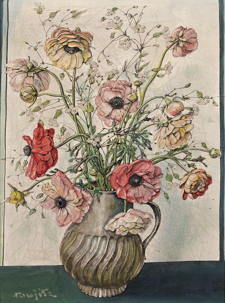 Les fleurs buissonnières de Foujita