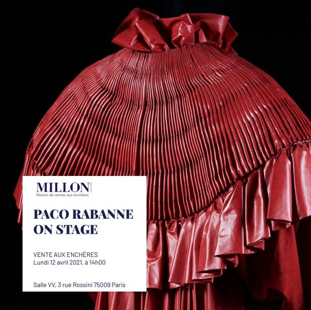 PACO RABANNE<br> ON STAGE