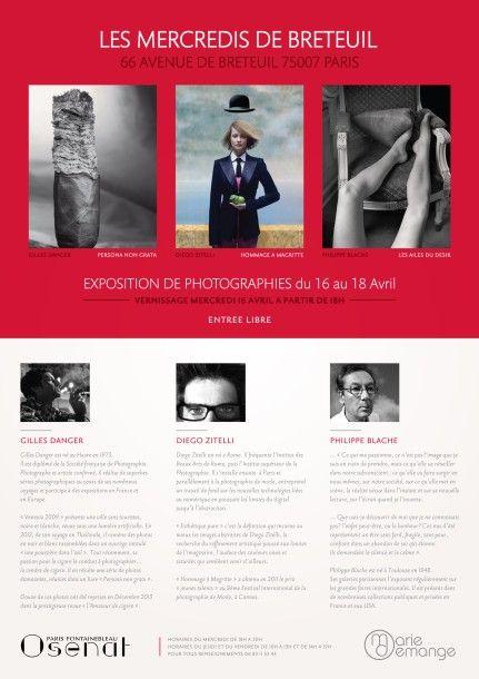 Les mercredis de Breteuil - Exposition de photographies du 16 au 18 Avril