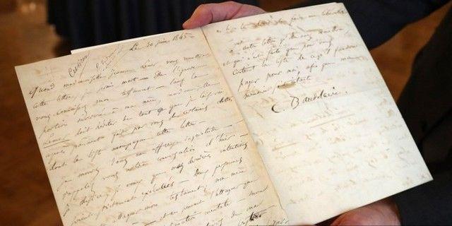 Une lettre de suicide de Baudelaire sera mise aux enchères à Fontainebleau
