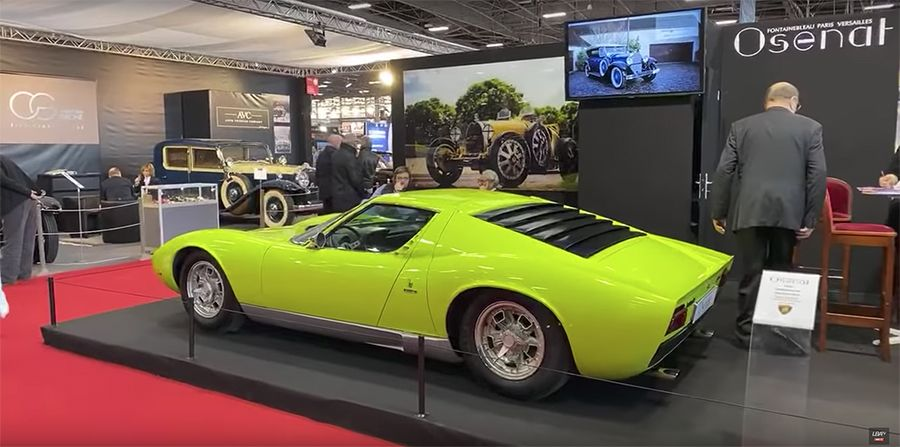 Un aperçu de notre stand au Salon Rétromobile 2020 mis en lumière par Le Billet Auto.