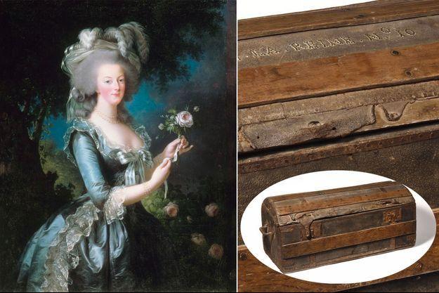 La malle de Marie-Antoinette s'est envolée pour 43 750 €