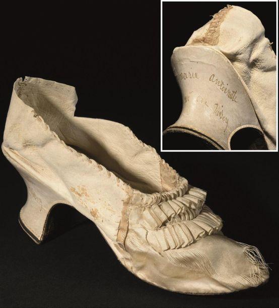 Yvelines. Un soulier de la reine Marie-Antoinette mis aux enchères à Versailles