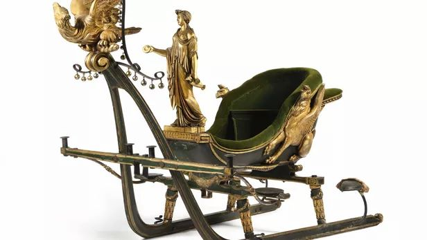 Bicentenaire de Napoléon: l'énigme du traîneau de Joséphine