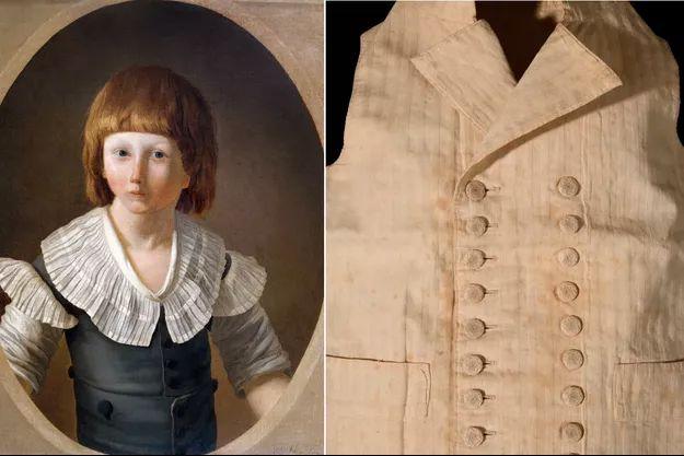 Un gilet du petit Louis XVII porté dans sa prison du Temple aux enchères
