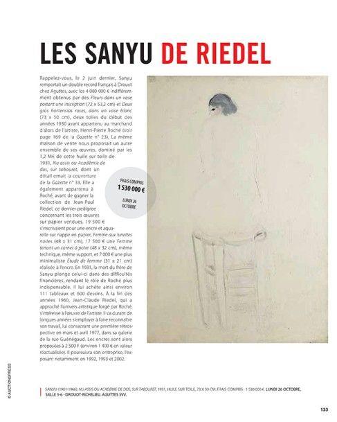 Les Sanyu de Riedel