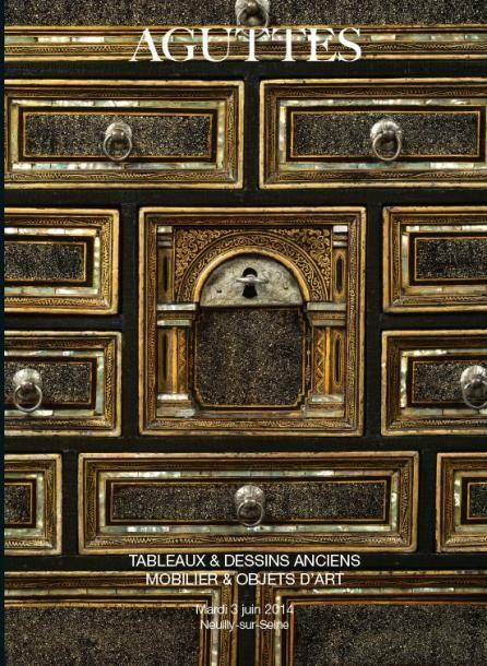 Vente TABLEAUX ANCIENS & MOBILIER OBJETS D'ART - Mardi 3 juin 2014