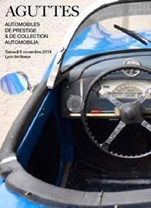 VENTE AUTOMOBILES DE PRESTIGE & DE COLLECTION, AUTOMOBILIA - 08/11/2014 à 14h30 - Lyon-Brotteaux