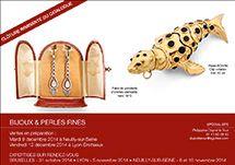 Ventes en Préparation - BIJOUX ET PERLES FINES - Décembre 2014