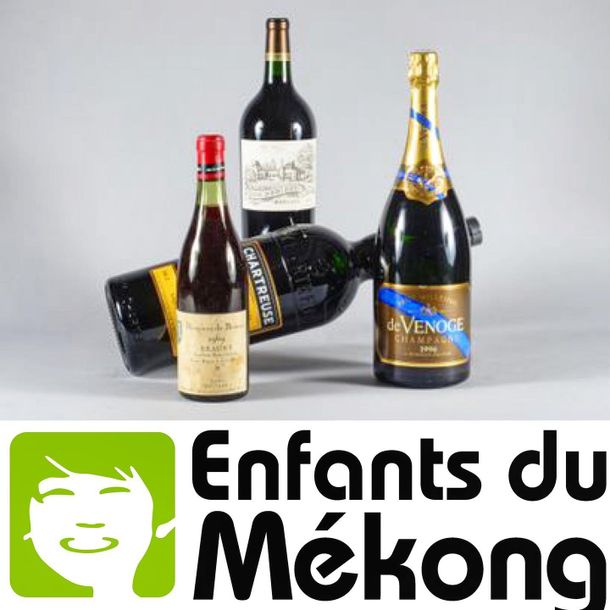 Vente de Vins au profit de l'association Enfants du Mékong