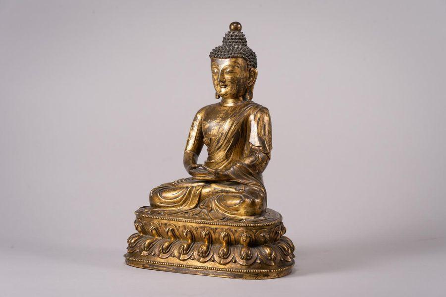 Un exceptionnel Bouddha