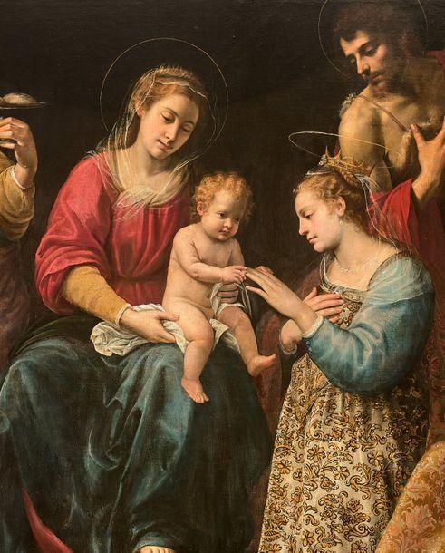 [VIDÉO] Une rarissime peinture d'autel de Giuseppe Vermiglio (1585-1635)