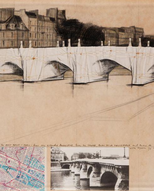 HOMMAGE À CHRISTO : un projet pour l'emballage du Pont Neuf