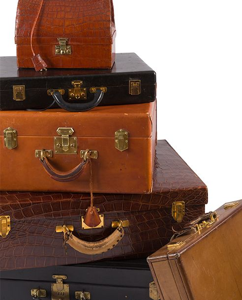 Hermès, Vuitton, Cartier, voyage dans l'histoire de la bagagerie de luxe