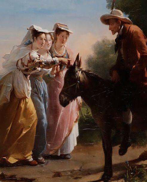 PRÉEMPTION PAR LE MUSÉE FABRE D'UNE TOILE D'HORTENSE HAUDEBOURG-LESCOT (1784-1845)