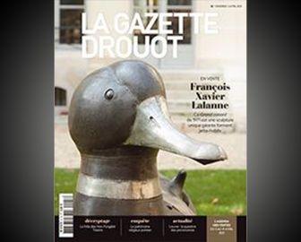 Gros & Delettrez en couverture de la Gazette Drouot
