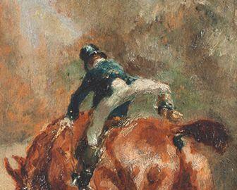 Le jeune cavalier de Toulouse-Lautrec dans la Gazette Drouot
