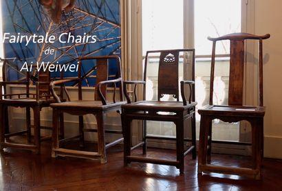 Fairytale Chairs de Ai Weiwei présenté par Pia Copper