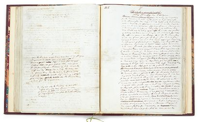 MANUSCRIT « URSULE MIROUËT », D'HONORÉ DE BALZAC