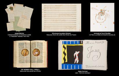 La plus importante collection de manuscrits et livres jamais proposée aux enchères