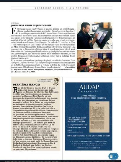 Figaro magazine : Collection HEILBRUN - AUDAP & Associés