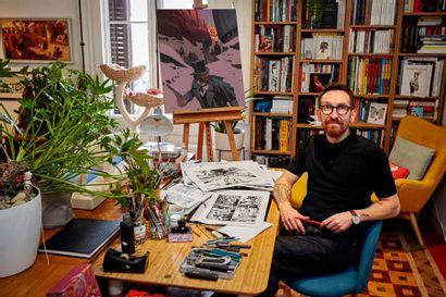 Ralph Meyer, la passion      du dessin
