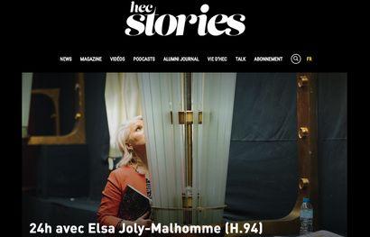 Reportage HEC Stories : 24h avec Elsa Joly-Malhomme