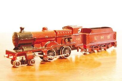 17 182 euros frais compris. Märklin, locomotive E800 LMS.
