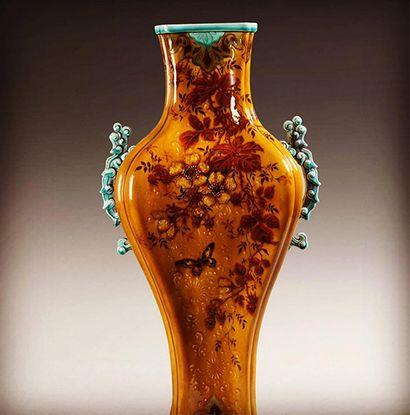 vase par Théodore Deck