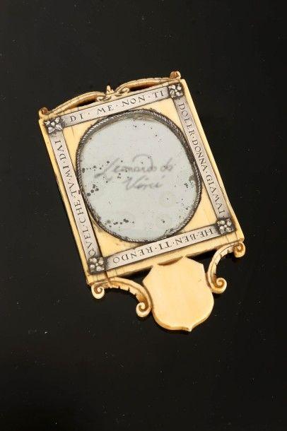 Miroir présumé de Léonard de Vinci