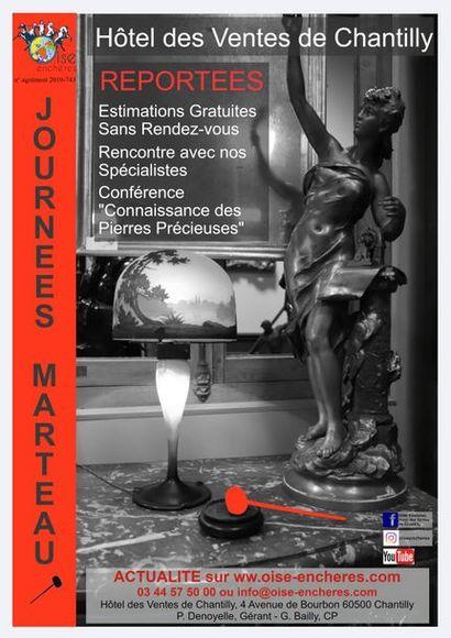 LES JOURNEES MARTEAU des 27 et 28 Mars SONT REPORTEES