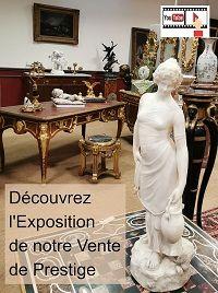 Visitez l'Exposition de notre Vente de Prestige du 7 Juin : Tableaux, Sculptures, Objets d'Art et Mobilier de Collection des XVIIe au XXe siècle