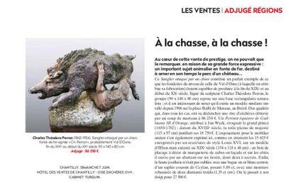 A la chasse, à la chasse! Article de la Gazette Drouot n°24 du 19 Juin 2020