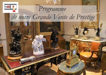 Programme de notre Grande Vente de Prestige au Château de Roye-sur-Matz du 24 Janvier 2021