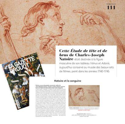 NATOIRE ET LA SANGUINE, ARTICLE DE LA GAZETTE DROUOT N°15 DU 16 AVRIL 2021, P.111