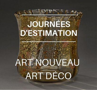 Journées d'estimation Art nouveau - Art déco