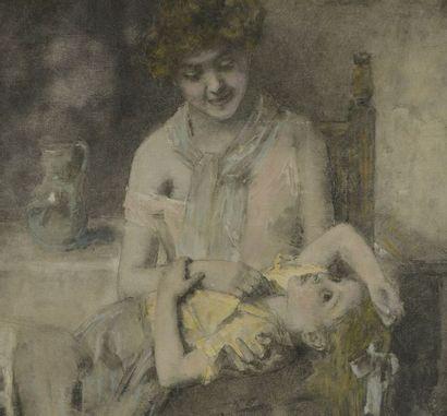 Un tableau d'Harlamoff prochainement en vente à Drouot
