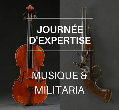 Journée d'estimations Musique & Militaria
