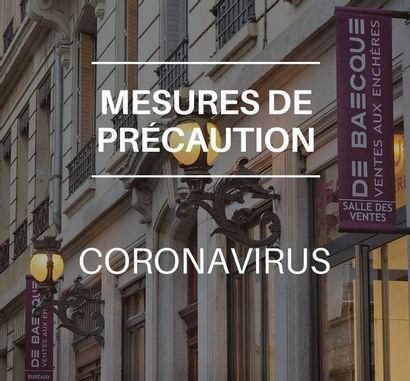Coronavirus - Mesures de précaution