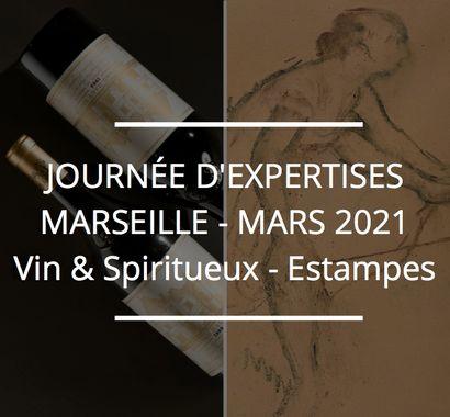 JOURNÉE D'EXPERTISES GRATUITES & CONFIDENTIELLES - VINS & SPIRITUEUX - MARSEILLE