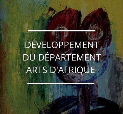 DÉVELOPPEMENT DU DÉPARTEMENT ARTS D'AFRIQUE CHEZ DE BAECQUE & ASSOCIÉS