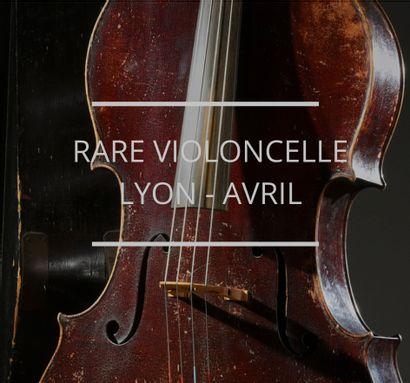 Un rare violoncelle de 1835 par le maître luthier Pierre Silvestre (1801-1859)