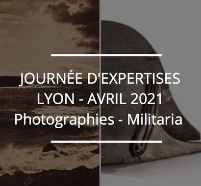 JOURNÉE D'EXPERTISES GRATUITES & CONFIDENTIELLES - PHOTOGRAPHIES - MILITARIA - MATÉRIEL PHOTOGRAPHIQUE ET CINÉMATOGRAPHIQUE -  LYON