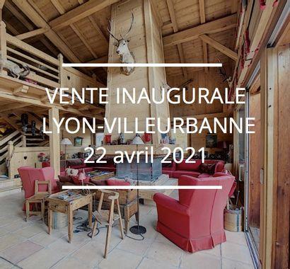 VENTE INAUGURALE - LYON-VILLEURBANNE - HOTEL DES VENTES ANNEXE