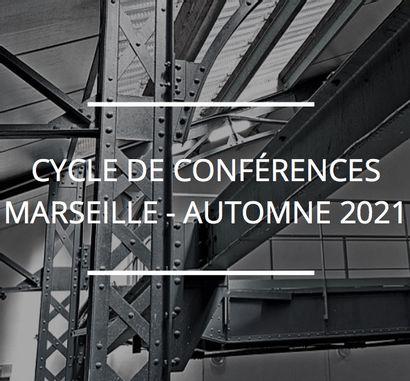 Cycle de conférences à Marseille en automne 2021