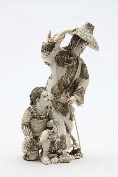 OKIMONOS & NETSUKES du JAPON XVIIIe et XIXe S.