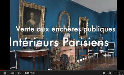 intérieurs parisiens : <br>du classique au design