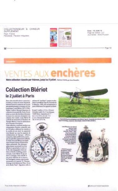 Collection Blériot le 2 juillet à Paris