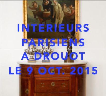 Intérieurs parisiens à Drouot