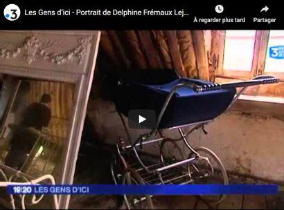 FRANCE 3 - LES GENS D'ICI - PORTRAIT DE DELPHINE FREMAUX-LEJEUNE COMMISSAIRE PRISEUR A ROUEN